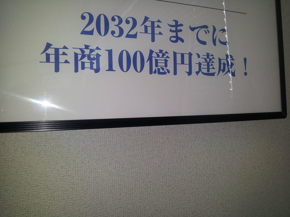 売上目標100億円